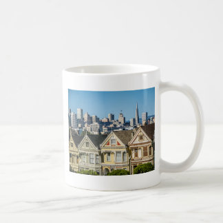 painted ladies san francisco coffee mug