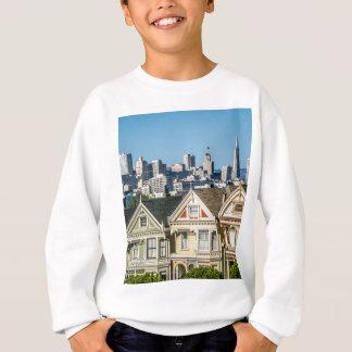 painted ladies san francisco sweatshirt
