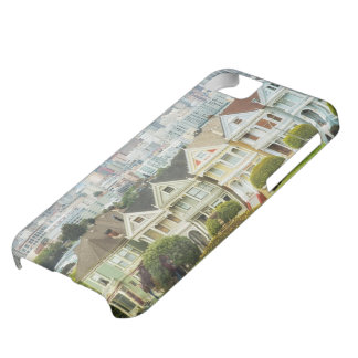 Painted Ladies, Victorian houses and skyline Case For iPhone 5C