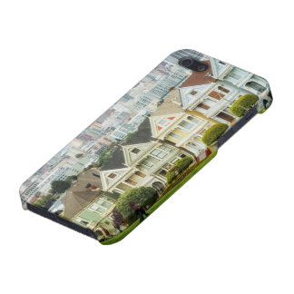 Painted Ladies, Victorian houses and skyline iPhone 5 Covers