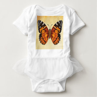 Painted Lady Butterfly Baby Bodysuit