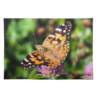 Painted Lady Butterfly Cloth Placemat