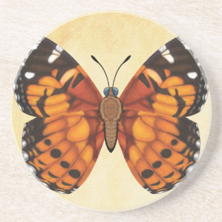 Painted Lady Butterfly Coaster