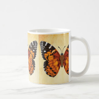 Painted Lady Butterfly Coffee Mug