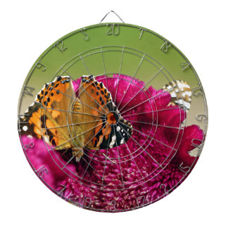 Painted Lady Butterfly Dartboard