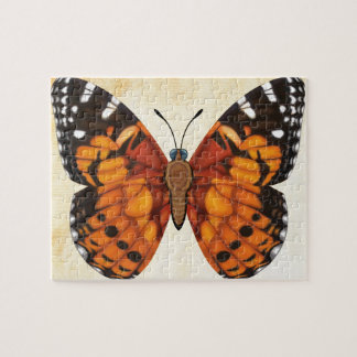 Painted Lady Butterfly Jigsaw Puzzle