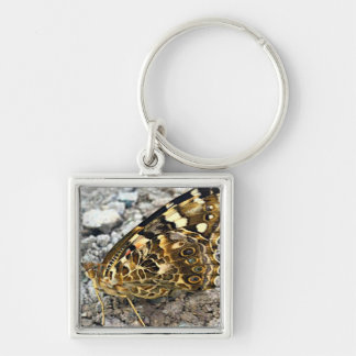 Painted Lady Butterfly Keychain