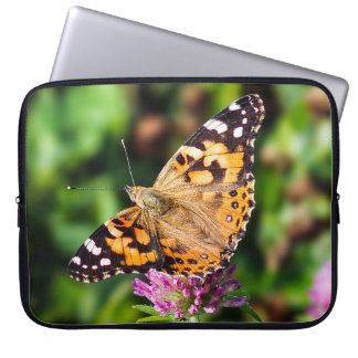 Painted Lady Butterfly Neoprene Laptop Sleeve