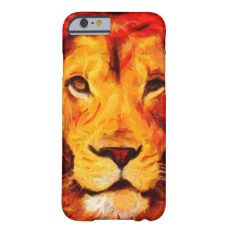Painted Leo Lion Phone Case
