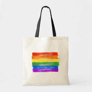 PAINTED LGBTQ PRIDE FLAG - copy -  Tote Bag