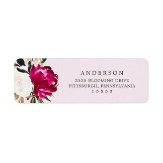 Painted Magnolia on Blush Pink | Wedding