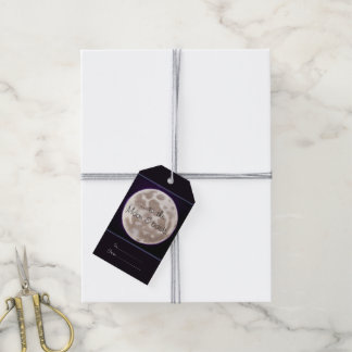 Painted Moon Pack Of Gift Tags