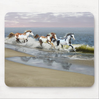 Painted Ocean Mouse Pad