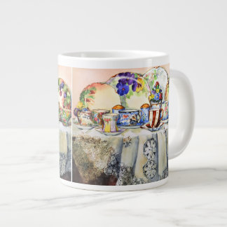 Painted Painted China Jumbo Mug