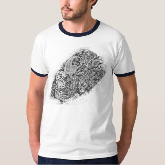 Painted Paisley T-Shirt