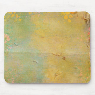 Painted Paper bag Collage Mousepads