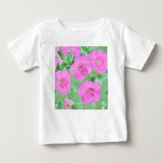 Painted Petunias Baby T-Shirt