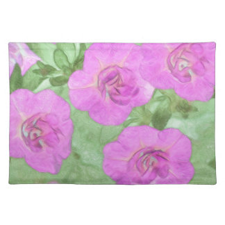 Painted Petunias Placemat