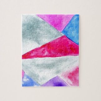 Painted Polygonal Background2 Jigsaw Puzzle