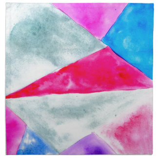 Painted Polygonal Background2 Napkin