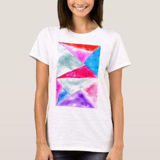 Painted Polygonal Background2 T-Shirt