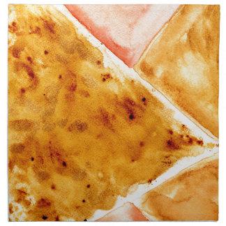 Painted Polygonal Background Napkin