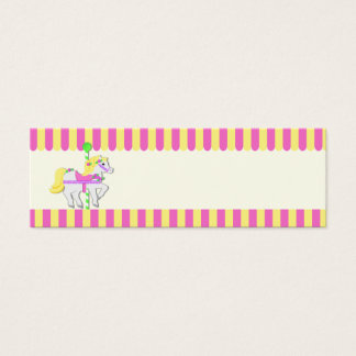Painted Ponies Gift Tag Mini Business Card