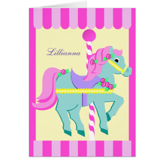 Painted Pony Thank You Card