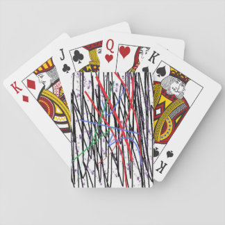 Painted Print on Standard Playing Cards