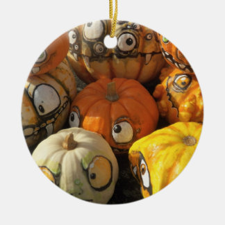 Painted Pumpkins Ornament