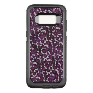 Painted Purple Animal OtterBox Commuter Samsung Galaxy S8 Case