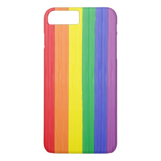 Painted Rainbow Flag iPhone 8 Plus/7 Plus Case