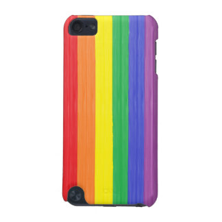 Painted Rainbow Flag iPod Touch (5th Generation) Case