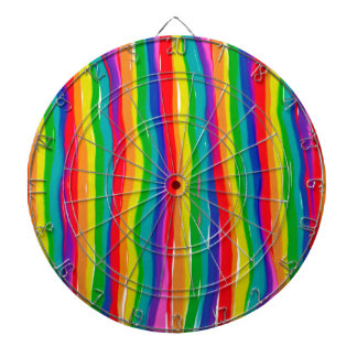 Painted Rainbows Dartboard