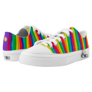 Painted Rainbows Low-Top Sneakers
