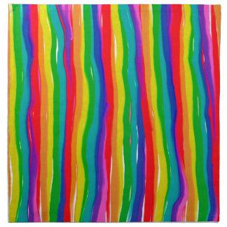 Painted Rainbows Napkin