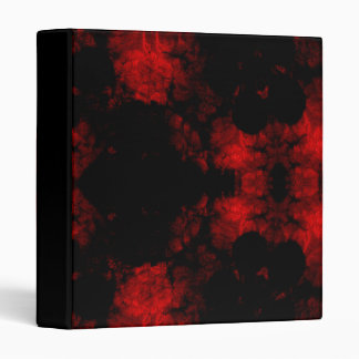 Painted Red Vampire Gothic Binder