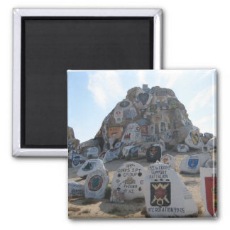 Painted Rocks, National Training Center Magnet