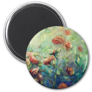 Painted Roses magnet