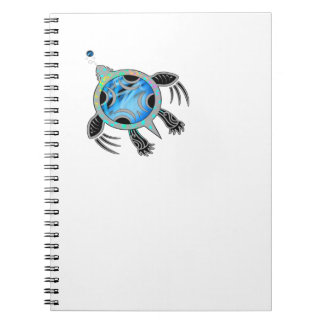 Painted Sea Turtle Spiral Notebook