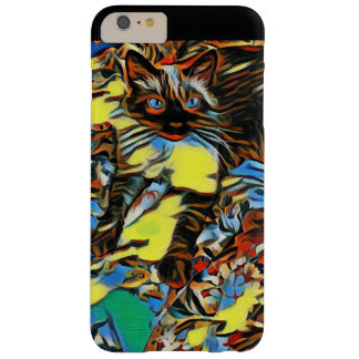 Painted Siamese Barely There iPhone 6 Plus Case