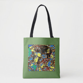 Painted Siamese Mix Tote Bag