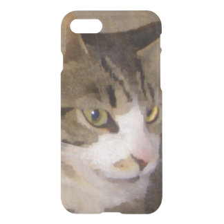 Painted Silk Kitty iPhone 7 Case