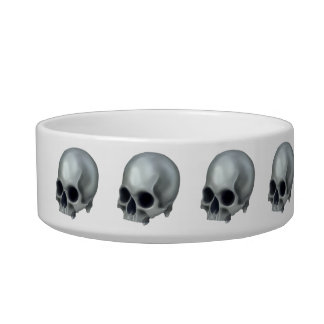Painted Skull Pet Bowl