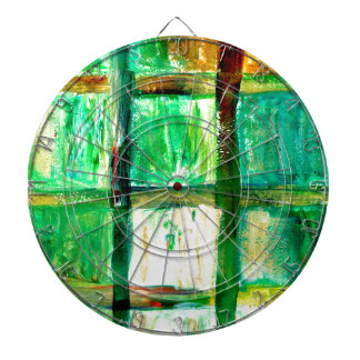 Painted Squares Art2 Dartboards