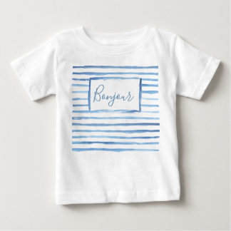Painted Stripes Customizable Baby Shirt