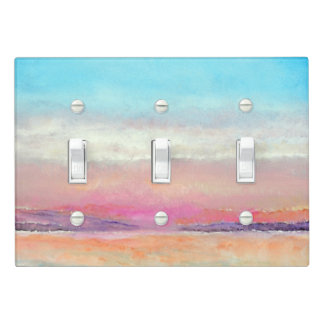 Painted Sunset Art  | Light Switch Cover
