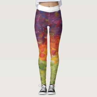 Painted Sunset Leggings