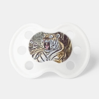 Painted Tiger 8 Pacifier