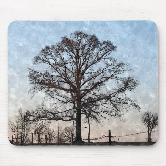 Painted Tree Mousepad